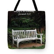 Rest For The Weary Tote Bag by Sara  Raber