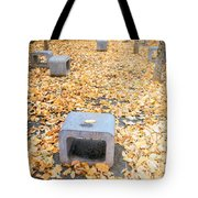 rest in fall IV Tote Bag by Hannes Cmarits