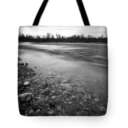 Restless River Tote Bag by Davorin Mance