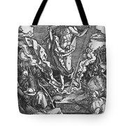 Resurrection Tote Bag by Albrecht Duerer