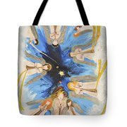 Revelation 8-11 Tote Bag by Cassie Sears