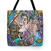 Revelation Chapter 5 6-14 Tote Bag by Anthony Falbo