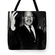 Reverend King Tote Bag by Benjamin Yeager