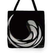 Reverse Yin Yang Tote Bag by Cheryl Young
