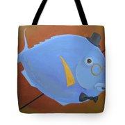 Rhapsody In Blue Tote Bag by Marina Gnetetsky
