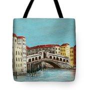 Rialto Bridge Tote Bag by Anastasiya Malakhova