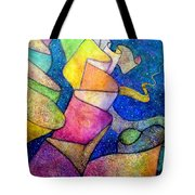 Ribbon In The Sky Tote Bag by Jim Whalen