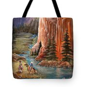 Rim Canyon Ride Tote Bag by Marilyn Smith