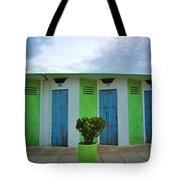 Rimini Beach Panorama Tote Bag by Andy Prendy