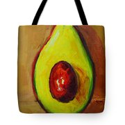 Ripe Avocado Tote Bag by Patricia Awapara