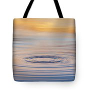 Ripples On A Still Pond Tote Bag by Tim Gainey