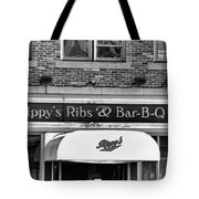 Rippy's Ribs And Bar Bq Tote Bag by Dan Sproul