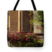 Riquewihr Window Tote Bag by Brian Jannsen