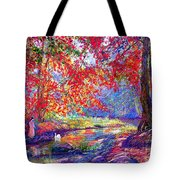 River of Life Tote Bag by Jane Small