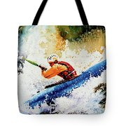 River Rush Tote Bag by Hanne Lore Koehler