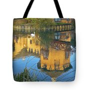 Riverside Homes Reflections Tote Bag by Gill Billington