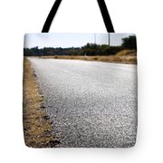 Road Edge Tote Bag by Tim Hester