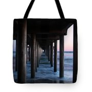 Road To Heaven Tote Bag by Mariola Bitner