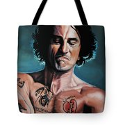 Robert De Niro In Cape Fear Tote Bag by Paul Meijering