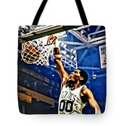 Robert Parish  Tote Bag by Florian Rodarte
