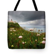 Roca Lighthouse Tote Bag by Carlos Caetano