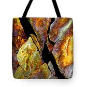 Rock Art 17 Tote Bag by Bill Caldwell -        ABeautifulSky Photography
