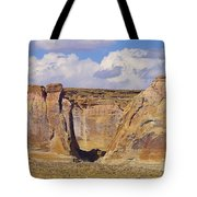 Rock Formations At Capital Reef Tote Bag by Jeff Swan