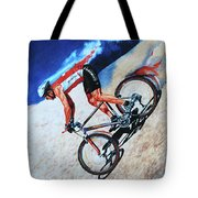 Rocky Mountain High Tote Bag by Hanne Lore Koehler