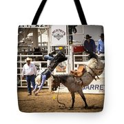 Rodeo High Flyer Tote Bag by Jon Berghoff