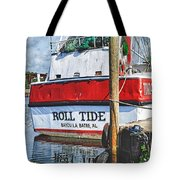 Roll Tide Stern Tote Bag by Michael Thomas