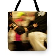 Roller Derby Tote Bag by Theresa Tahara