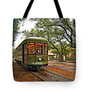 Rollin' Thru New Orleans Tote Bag by Steve Harrington