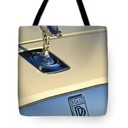 Rolls-royce Hood Ornament 3 Tote Bag by Jill Reger