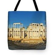roman theatre in Merida Tote Bag by Rudi Prott
