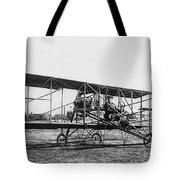 Romance Of Flight C. 1905 Tote Bag by Daniel Hagerman