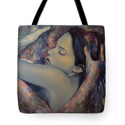 Romance With A Chimera Tote Bag by Dorina  Costras