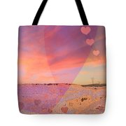 Romantic Sunset Tote Bag by Augusta Stylianou