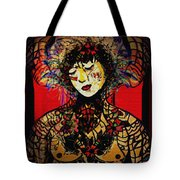Romantic Thoughts Tote Bag by Natalie Holland