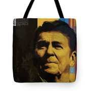 Ronald Reagan Tote Bag by Corporate Art Task Force