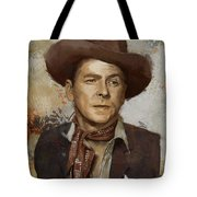 Ronald Reagan Portrait 4 Tote Bag by Corporate Art Task Force