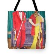 Roosevelt And Lola Tote Bag by Rhonda Leonard