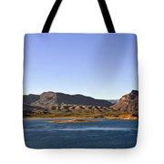 Roosevelt Lake Arizona Tote Bag by Christine Till
