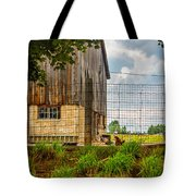 Rooster Turf Tote Bag by Steve Harrington