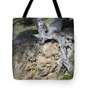 Rooted on the Edge Tote Bag by Bruce Gourley