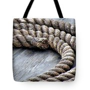 Rope Tote Bag by Janice Drew