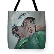Rory Mcilroy Tote Bag by John Halliday