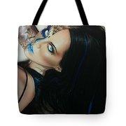 'rosa Azul' Tote Bag by Christian Chapman Art