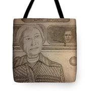 Rosa Parks Imagined Progress Tote Bag by Irving Starr