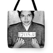 Rosa Parks Tote Bag by Unknown