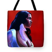 Rosario Dawson Tote Bag by Paul Meijering